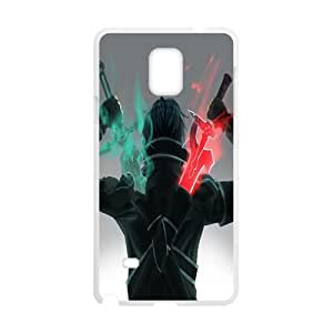 Green and red sword warrior Cell Phone Case for Samsung Galaxy Note4