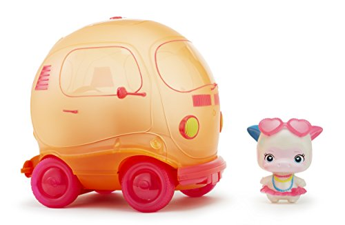 Squeezoos Bubble Bus with Exclusive Character Squeeze Doll
