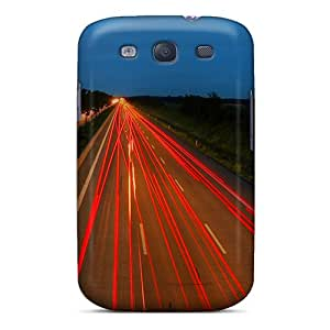 JohnRDanie Case Cover Protector Specially Made For Galaxy S3 The Road