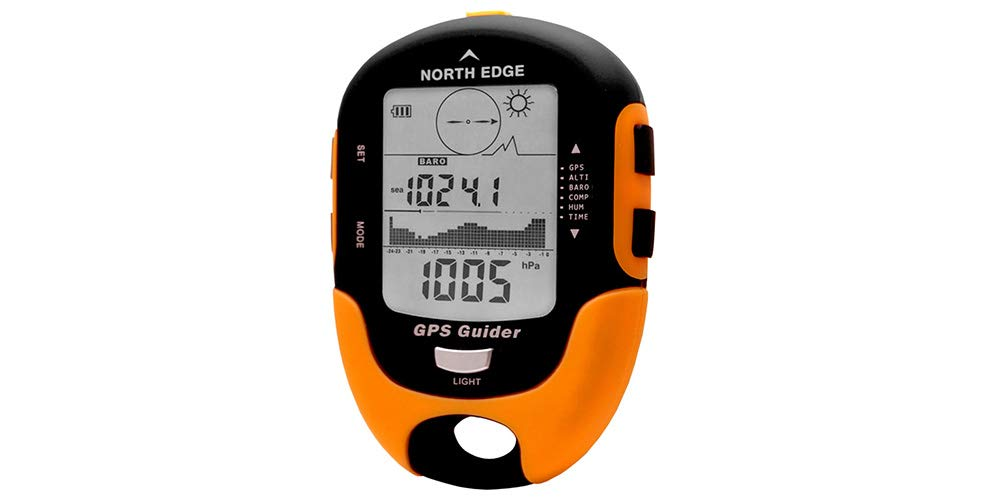 gengyouyuan GPS multifunción Retorno altitud barómetro Exterior brújula brújula Temperatura Humedad Instrumento