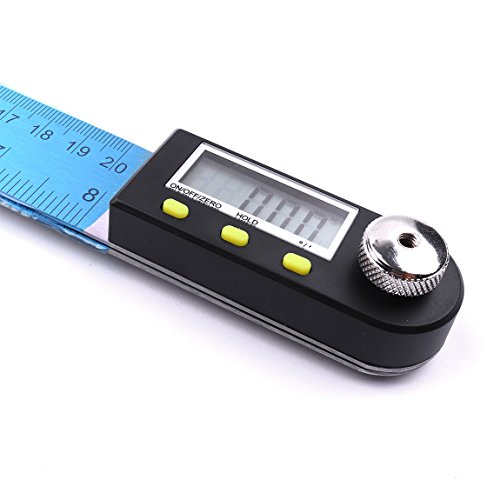 Atoplee 200mm Digital Angle Finder Stainless Steel Ruler/Digital Protractor by ATOPLEE (Image #1)