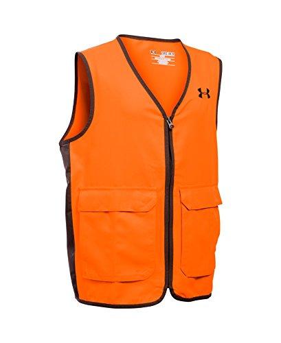 Under Armour Boys' Blaze Antler Logo Hunting Vest, Blaze Ora