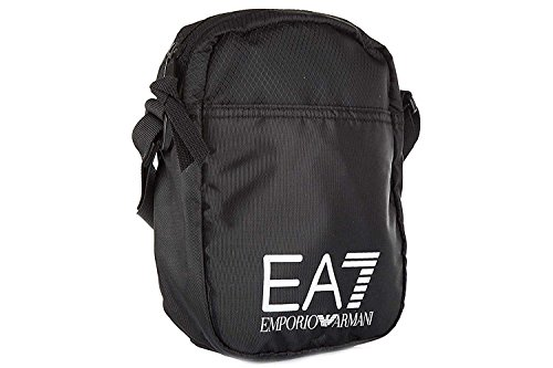 Hombre Black Bag Body Cross Prime EA7 Train Negro Eq8CW
