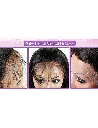 jfldma® fábrica Productos humanos pelo Completo punta pelucas de largo Jerry mensch pelo rizado pelucas para Sexy Mujeres Negras, medium brown-18 inch: ...