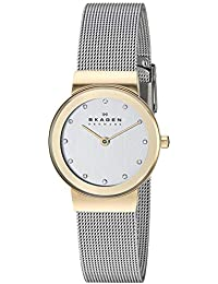 Women's Ancher Quartz Two-Tone Stainless Steel Casual Watch, Color: Gold and Silver-Tone (Model: 358SGSCD)