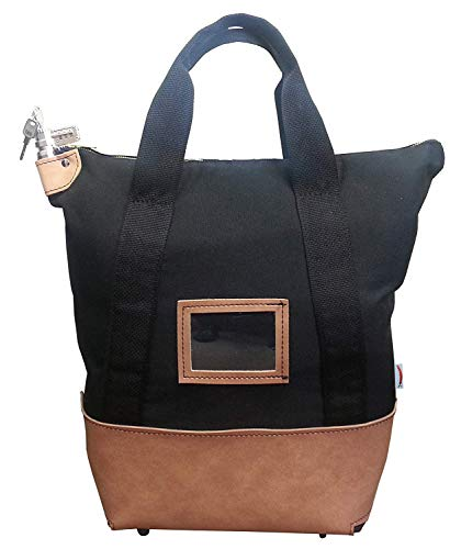 - Locking Courier Bag 1000 Denier Nylon Combination Lock (Black)
