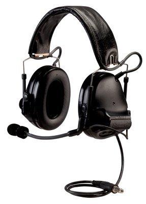 Peltor SWAT-TAC III ACH Single Comm Headset, Black