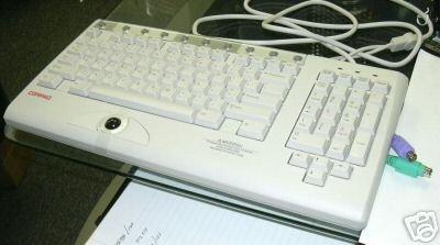 001 Compaq Rack - 1u Rack Keyboard with Hot-Key &trackball