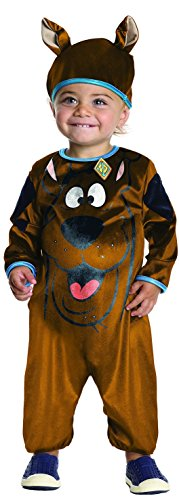 Rubie's Costume Co Baby Boys' Scooby Doo Costume, Multi, (Cartoon Characters Costumes For Babies)