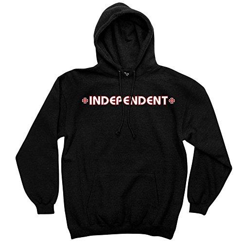 s Pullover Hooded L/S Men's Sweatshirt (X-Large, Black) ()