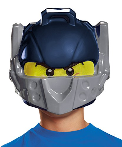 [UHC Boy's Lego Clay Nexo Knights Blue Mask Child Halloween Theme Party] (Ultimate Party Animal Halloween Costume)