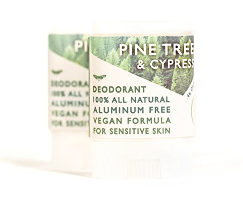 Cypress Pine Tree - Live Beautifully Vegan Travel Deodorant - Pine Tree & Cypress