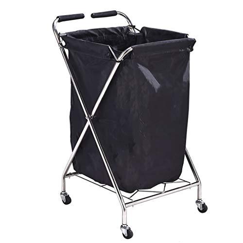 Hairdressing Trolley, Towel Storage bin, Hair Salon Barber Shop Towel Cabinet Hotel Gym Dirty Towel cart
