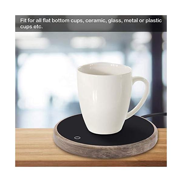 Scaldino per Tazza Caffè Calore Bevanda Tazza Tappetino Tazza Caffè Pad Più Caldo Scalda Latte Cacao TèAacqua Minestra… 2 spesavip