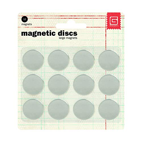 (Basic Grey 5/8-Inch-by-1/32-Inch Magnetic Snaps Large.)