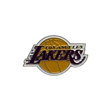Los Angeles Lakers escudo del Real Mallorca - escudo del Real Mallorca metal - acabado esmalte