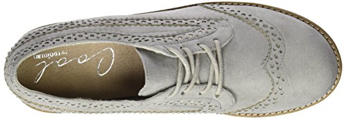 Mujer Grey Gris Light Derby Ipanema Cordones para Zapatos de COOLWAY nwxZYqS7Bx