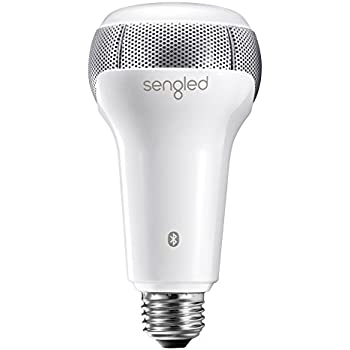 Sengled Solo Dimmable LED Bulb with Built-In Bluetooth Dual Channel JBL Speakers,Smart Music Light App Controlled,1 Years Warranty