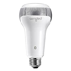 Sengled Solo Dimmable LED Bulb with Built-In Dual Channel JBL Speakers, App Controlled Bluetooth Light Bulb Speaker, 3 Years Warranty