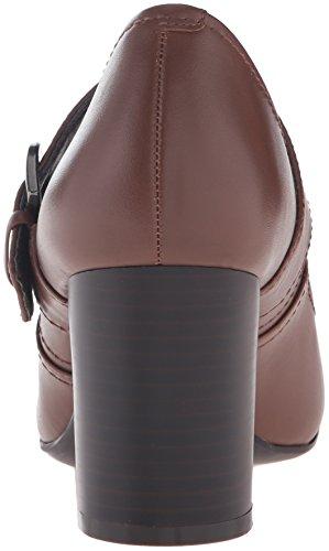 Easy Spirit Women's Aimsly Dress Pump Dark Natural Leather B0otL