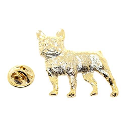 - Sarah's Treats & Treasures French Bulldog Pin ~ 24K Gold ~ Lapel Pin
