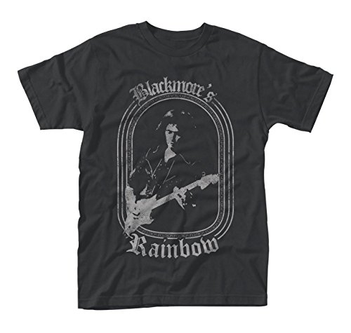 Ritchie Blackmores Rainbow Rock Official Tee T-Shirt Mens Unisex (X-Large)