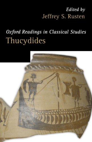 Thucydides (Oxford Readings in Classical Studies)