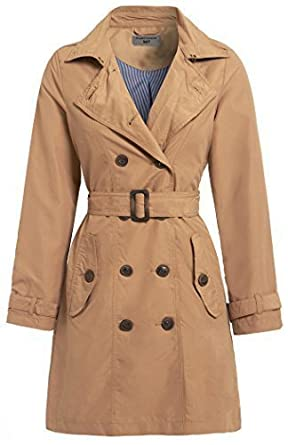 bcc4762094244 SS7 NEW Women s Canvas Trench Mac