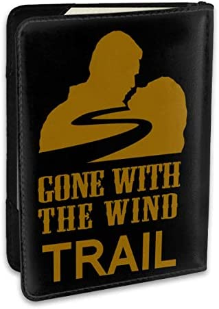風と共に去りぬ Gone With パスポートケース メンズ 男女兼用 パスポートカバー パスポート用カバー パスポートバッグ ポーチ 6.5インチ高級PUレザー 三つのカードケース 家族 国内海外旅行用品 多機能