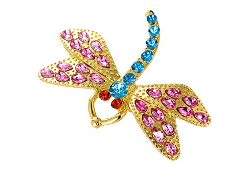 (DOUEER Dragonfly Hair Clip Coraline Crystal Sparkly)