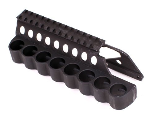 Mesa Tactical Saddle Mount Sureshell 8 Shell/12 Ga Carrier For Remington 870/1100/11-87 ()