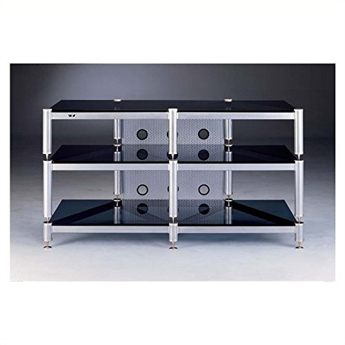 (BLG Series TV Stand in Grey Silver)