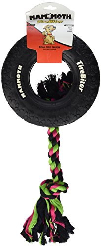 Mammoth TireBiter Chew Toy with Rope, Large