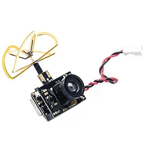 AKK 40CH 5.8G 0/25mW/50mW/200mW Switchable VTX, 600TVL 1/3 CMOS Micro AIO FPV Camera for FPV Drone