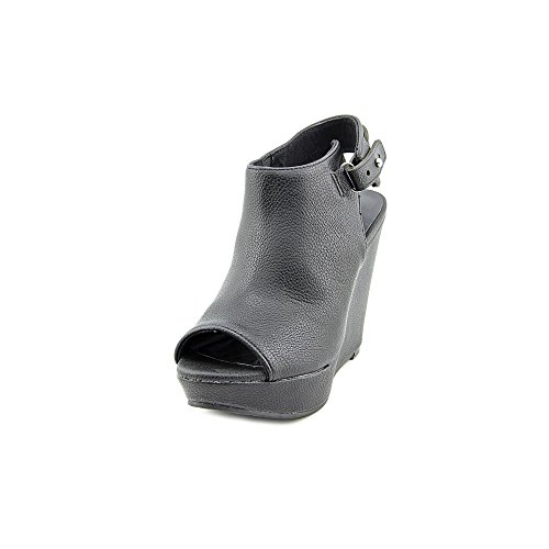 Amerikaanse Rag Womens Russie Platform Wig Sandaal 8m Zwart