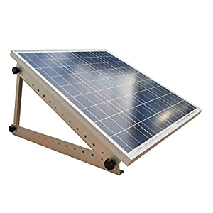 41aZ4tY7McL. SS300  - Adjustable Solar Panel Mount Mounting Rack Bracket -- Boat, RV, Roof Off Grid