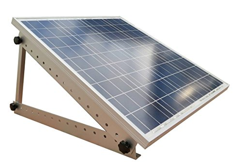 Cheap Adjustable Solar Panel Mount Mounting Rack Bracket with Large 28″ Mounting Arms – Boat, RV, Roof Off Grid