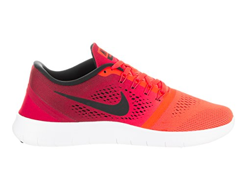 buy cheap good selling outlet marketable NIKE Men's Free RN Running Shoe Total Crimson/Black/Gym Red/White Size 10.5 M US free shipping view APnYmO