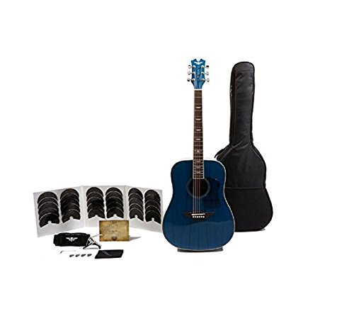 Keith Urban Acoustic-Electric Ripcord 40-piece Guitar Package – Electric Blue