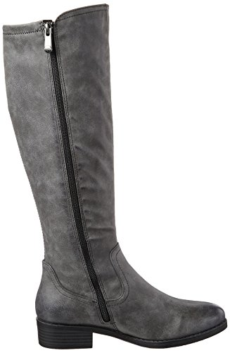 Marco Tozzi Ladies 25505 Stivali Grigi (dk.grey Antic)