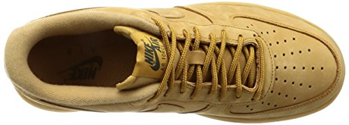 Flax Shoes gum Nike Running Brown outdoor Flax Green Mens Air Light 1 Force 6q8qXH0