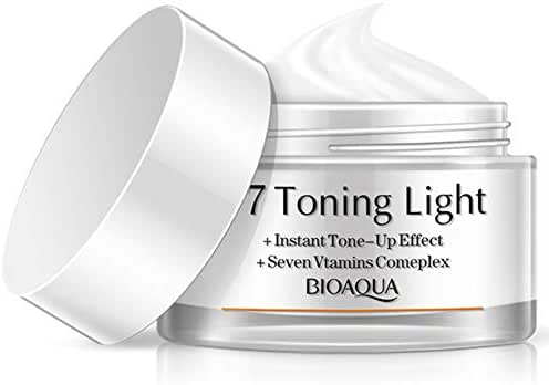 V7 Toning Light Instant Tone Up Effect + Seven Vitamins Complex,Keep Makeup All Day
