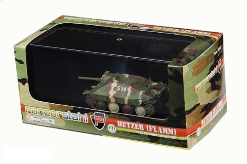 1:72 装甲車stahl ディスプレイ アーマー 88037 Skoda Sd.Kfz.138/2 Hetzer ディスプレイ モデル ドイツ軍 17.SSPzGrenDiv #S14 ウェストer