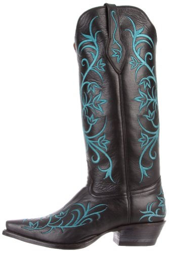 1016l Lama Signature Boots Black Tony Calf Women's Boot dXAtZt6wxq