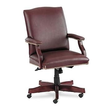 HON 6571NSL62 Jackson 6570 Series Executive High-Back Swivel and Tilt Chair, Burgundy Leather