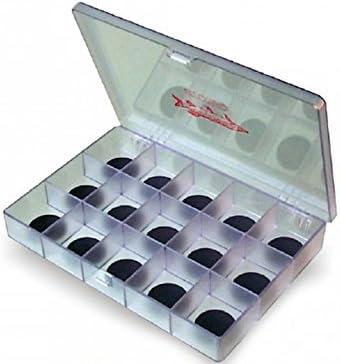 Stonfo 271S - Caja magnética para anzuelos (15 compartimentos): Amazon.es: Deportes y aire libre