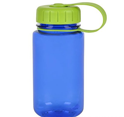 12OZ CHILDS SCREW TOP TRITAN WATER BOTTLE BLUE, Case of 36