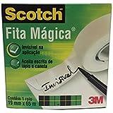 Fita Mágica, Scotch, Invisivel, Transparente