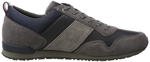 Sneakers 11c5 Grau M2285axwell Magnet Hilfiger midnight Herren Tommy qIUay