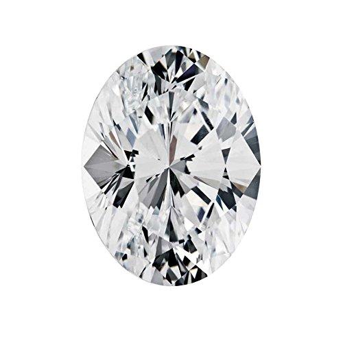 Si1 Oval Diamonds Loose (0.76 Ct D Color SI1 Lab Grown Loose Diamond Oval Cut IGI Certified)